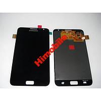 Дисплей с тачскрином для Samsung I9220 N7000 черны