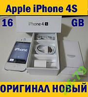 APPLE iPhone 4S 16Gb NEVERLOCK ПЛЁНКА+ЧЕХОЛ