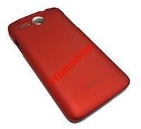 Пластик чехол для Lenovo A680 красный