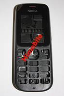 Корпус для Nokia 101 черный со срединой High Copy