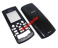Корпус для Nokia X1-01 черный (панели)