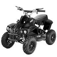 Детский железный квадроцикл Profi HBEATV 800 C-2, 4 фары (черный)