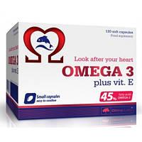 Витамины и минералы Olimp Omega 3 (45%)+vit E (120caps)