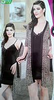 Женский халат с ночной сорочкой №806