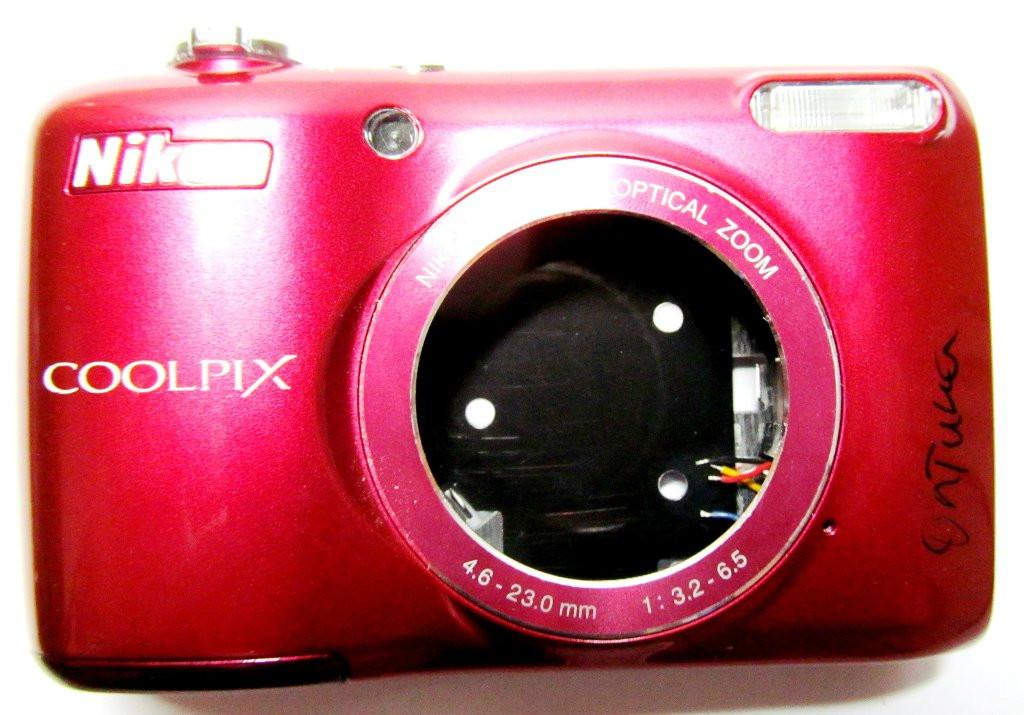 Корпус от фотоаппарата Nikon Coolpix L26 КРІ15161