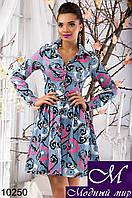 Женское красивое котоновое платье арт. 10250
