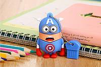 "USB Флешка ""Миньон Капитан Америка"" на 32 гб ( супергерой )"