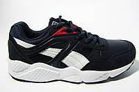 Женские, подростковые кроссовки BaaS, нубук/кожа, черные, Р. 36 37 38 39 40 41