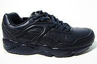 Женские, подростковые кроссовки BaaS, кожа, черные, Р. 37 38 39 40 41