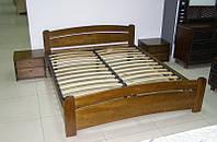 """Двоспальне ліжко """"Венеція"""" з натурального дерева бук Щит"""