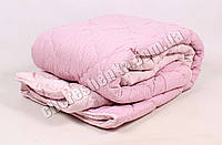 Полуторное одеяло бязь/шерсть 008