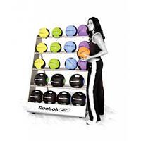 Стойка для медицинских мячей REEBOK RE-20031 25 шт