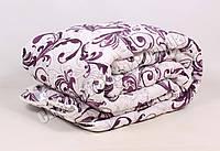 Двуспальное одеяло бязь/шерсть 002