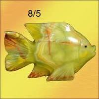 Фигурка Рыба  из оникса 12см