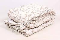 Двуспальное одеяло бязь/шерсть 006