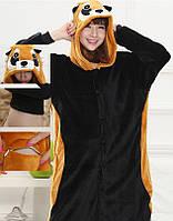Пижама кигуруми kigurumi костюм Панда красная S