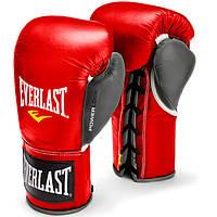 Боксерские перчатки EVERLAST PowerLock Pro Fight