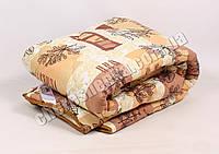 Двуспальное одеяло бязь/шерсть 013