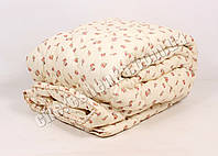 Двуспальное одеяло бязь/шерсть 004