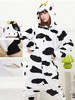 Пижама кигуруми kigurumi костюм Корова S