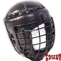 Боксерский бесконтактный шлем PAFFEN SPORT с защитной сеткой