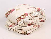 Двуспальное одеяло бязь/шерсть 015