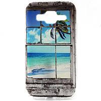 Чехол Samsung Core Prime VE G361H силиконовый, Окно в рай