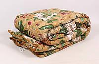 Двуспальное одеяло бязь/шерсть 009