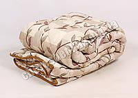 Двуспальное одеяло бязь/шерсть 014