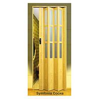 Дверь-гармошка пластиковая SYMFONY (сосна) 2,03*0,86 м