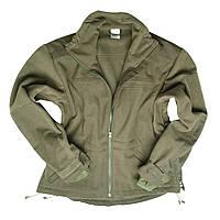 Куртка флисовая с мебраной ветрозащитная олива (Mil-Tec)