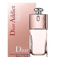 Туалетная вода для женщин Christian Dior Addict Shine 50 мл(Кристиан Диор Аддикт Шайн)