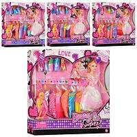 Игровой набор кукла с ребёнком и нарядами B388-4