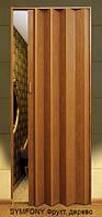 Дверь-гармошка пластиковая MELODY (фруктовое дерево) 2030х820 мм