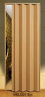 Дверь-гармошка пластиковая MELODY (бук) 2030х820 мм