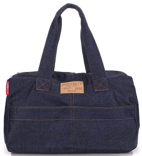 Джинсовая повседневная сумка POOLPARTY sidewalk-jeans