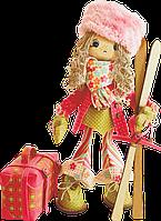 """Набор для шитья игрушек """"Лыжница"""""""