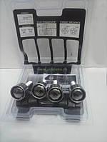 Секретки на колеса М12х1,5 28 мм. под Конус (секретные болты), закр., с кольцом., 2 ключа в комплекте.