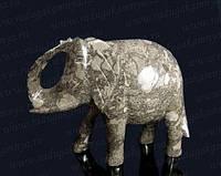 Фигурка Слон  из оникса 12см