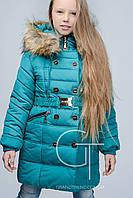 Зимнее пальто для девочки  X-Woyz! DT-8234