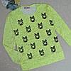 Реглан для девочки 5-8 лет, cotton ,Турция. Батники, кофточки, свитеры для девочек.