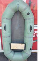 Лодка одноместная для рыбалки Лисичанка, резиновая, надувная, насос, грузоподъёмность 120 кг