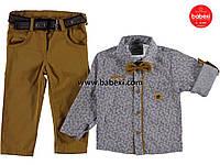Нарядный комплект с рубашкой для мальчика 1,2,3,4 года код.206347