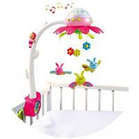 Smoby Музыкальный мобиль на кроватку Smoby Цветок, розовый (211374R)