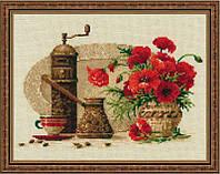 Набор для вышивания крестом «Кофе» (1121), Риолис