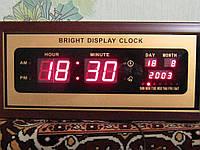 Электронные настенные часы.