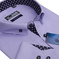 Оригинальная фиолетовая рубашка для мужчин