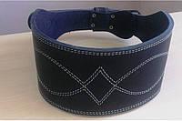 Пояс атлетический трехслойный кожаный Onhillsport, размер M