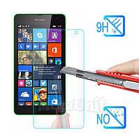 Защитное стекло для экрана Microsoft (Nokia) Lumia 535 твердость 9H, 2.5D (tempered glass)