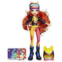 Кукла My Little Pony Equestria Girls Sunset Shimmer Sporty Style Motocross Doll